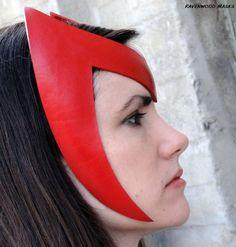Headdress Scarlet Witch cosplay Enchanter by RavenwoodMasks