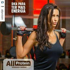 DICA FITNESS ALL PROTEIN AOS AMANTES DO ESPORTE  Investir na alimentação é um dos segredos para ganhar massa muscular, dica...