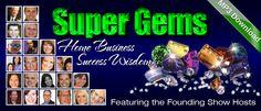 @HomeBusRadio - Super Gems 90 Minute MP3 Download Featuring Super Star Talk Show Hosts http://homebusinessradionetwork.com/c/KimPinder
