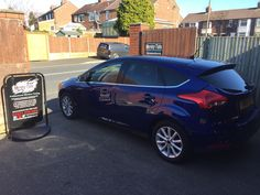 2015 Ford Focus in this afternoon for 18% Carbon tints to the rear.