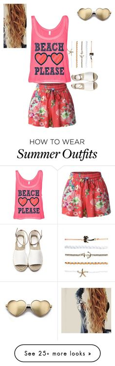 "Collection Of Summer Styles    ""Beachy Fun"" by breezyd123 on Polyvore featuring Wildfox, Wet Seal, LE3NO, beach and summerdate    - #Outfits  https://fashioninspire.net/fashion/outfits/summer-outfits-beachy-fun-by-breezyd123-on-polyvore-featuring-wildfox-wet-seal-le3no-beach/"