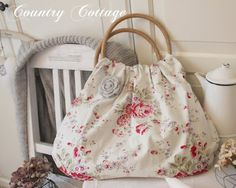 lovely bag by My country cottage garden's blog