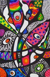 My doodles are not Zentangles