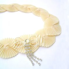 Champagne Art Deco headband 1920s Hair Accessories by curtainroad