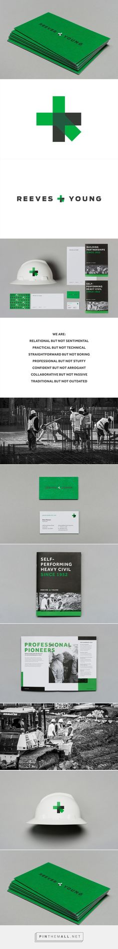 Brand Identity for Reeves & Young by Matchstic