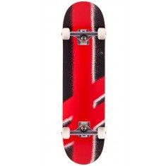 """Deathwish Giant Gang Logo Skateboard Complete - Black/Red - 8.0"""""""