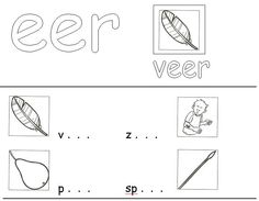 Very good Werkblad Groep 4 Eer Oor Eur that you must know, You're in good company if you're looking for Werkblad Groep 4 Eer Oor Eur Good Company, Spelling, Letters, School, Cards, Classroom, Class Room, Letter, Schools