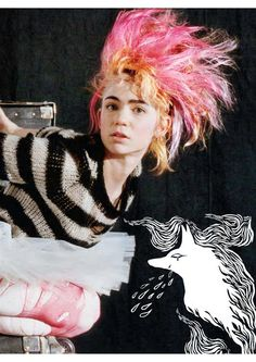 Grimes - studied ballet for 11 years