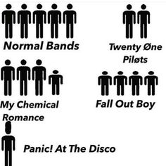 MCR shouldn't even be there. You know. Think about it.    I am so sorry<<<You wanna get punched?