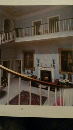 Staircase Hall Chinoiserie, Colonial, Shelves, House, Marie, Europe, English, Home Decor, Style