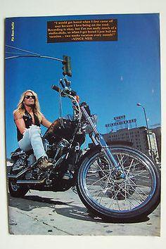 VINCE-NEIL-Motley-Crue-1991-Magazine-Poster
