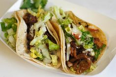 Nate Gutierrez, the chef and owner of Nate's Taco Truck and Nate's Taco Truck Stop in Richmond, Va., could not stop snacking on the skin left over from his roast chickens. So, he decided to make chicken skin crisp on his flattop and offer it in a taco. The chicken-skin tacos sell out whenever they are on the menu. This recipe is adapted from his work: chicken breasts are cooked, the skin crisped and the meat shredded, and the whole thing stuffed into a tortilla. Top at will. (Photo: Sarah…