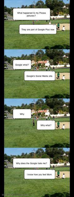 Google Hates my Mom