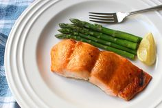 """""""Miso Maple-Glazed Salmon"""" – Canadian Japanese Fusion Cuisine at its Finest. This is my farovite way to eat salmon. I use apple cider vinegar instead of rice vinegar."""