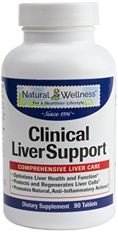 Natural Wellness Clinical Liver Support -90 vcaps - 12 Natural Supplements in 1 Bottle to Address All Your Liver Needs ** Want to know more, click on the image.