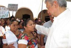 """Andrés Manuel López Obrador llamó a los yucatecos y a los mexicanos a votar el próximo 7 de junio, porque """"si no votamos, ¿cómo se va a cambiar a un régimen"""