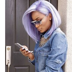***Try Hair Trigger Growth Elixir*** ========================= {Grow Lust Worthy Hair FASTER Naturally with Hair Trigger} ========================= Go To: www.HairTriggerr.com ========================= Cute Pastel Lilac Bob!