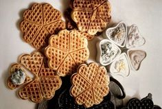 Slane galete Serbian Food, Serbian Recipes, Waffles, Breakfast, Morning Coffee, Waffle