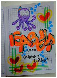 Ideas para Cuadernos Teaching Resources, Doodles, Notes, Clip Art, Letters, Stamp, My Love, Notebooks, How To Make