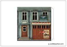 Printable Box, Printables, Free Paper Models, Mini Craft, Jumping Jacks, Wood Toys, Model Homes, Model Trains, Carrera