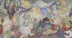 Tove Jansson Galleria i Helsingfors konstmuseum - Mumin Dulwich Picture Gallery, Drawing School, Tove Jansson, Hobgoblin, Weird Creatures, Helsinki, Impressionism, Caricature, Fresco