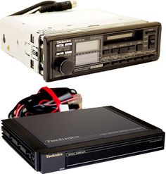 TECHNICS Car Radio Tape Deck & AMPLIFIER CQ-H7500EU CY-M125EU Hifi Audio, Car Audio, Technics Hifi, Audio Equipment, Car Accessories, Motorcycles, Garage, Cars, Antiquities