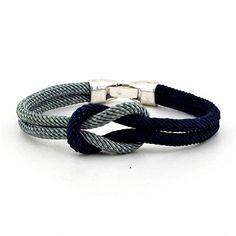 Solfera İki Renkli Alaçatı Düğümü Erkek Bileklik Bt131 Couture Beading, Viking Knit, Black Leather Bracelet, Homemade Jewelry, Paracord, Sephora, Knots, Personalized Gifts, Jewelry Design