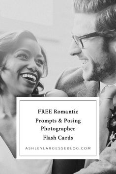 20 Photographer Flash Cards to Prompt Emotion and Romance in Portrait Sessions...how often do you struggle to give direction from behind your camera? Try these #photographyflashcards next time! www.ashleylargesseblog.com #photographer #photographytips #emotionalphotographs #photographer #photographertips #weddingphotography #weddingphotographers #weddingphotos #engagementphotos #engagementphotographer #engaged #engagementphotograpy #authenticlove Hobby Photography, Wedding Photography Tips, Flash Photography, Wedding Photography Inspiration, Photography Ideas, Portrait Photography, Bridal Party Poses, Give Directions, Groom Poses