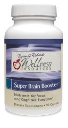 Super Brain Booster - awesome natural supplement for mood, focus, memory. #memory #supplement  $28.80