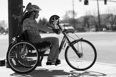 """Randee Sue. """"Randee Sue, 28, says most people don't realize what her bike is."""" via anewbike.com"""