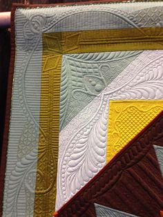 Detail of quilting. Just lovely.