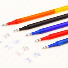 Caliente venta 0.5 mm escritura Point recarga borrable pluma recambio para bolígrafo plumas Office & School Supplies escritura para el estudiante oficial en Recargas para Plumas de Escuela y Oficina en AliExpress.com | Alibaba Group