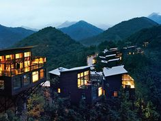 the super cool spot The Naked Retreats in the bamboo forest of Moganshan