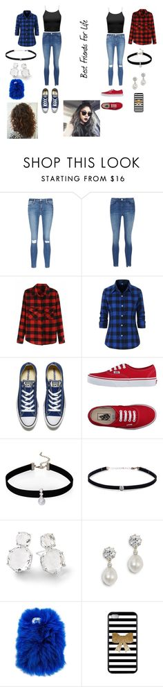 """""""Bff Outfit's"""" by malaysiasmith21 on Polyvore featuring beauty, Frame, Converse, Vans, Loren Olivia, Carbon & Hyde, Ippolita and Wild & Woolly"""