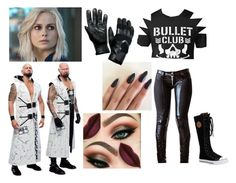 """Dana Debuts With Anderson And Gallows"" by makhinegankaller14 ❤ liked on Polyvore featuring Vision, Liquido, Karl Lagerfeld, POLICE, WWE and wweoc"