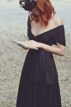 Beyond the LBD: Fifteen Beautiful Black Bridesmaids' Dresses | OneWed  coralie beatrix