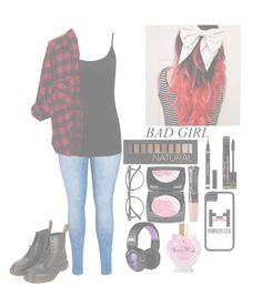 """♡Fem markiplier♡"" by squishy-bubble-tea ❤ liked on Polyvore featuring City Chic, M&Co, Woolrich, Forever 21, Too Faced Cosmetics, Lancôme, Anna Sui, Illesteva, Skullcandy and Dr. Martens"
