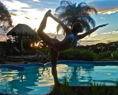 VOLCANO YOGA.  Join me for the next Gracious Living Yoga Adventure Retreat in NICARAGUA.  www.gracevanberkum.com