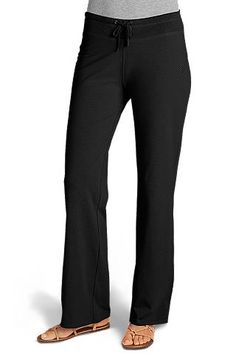 Casual, cute, and ready for the beach - these Coolibar ZnO Beach Pants are rated UPF 50+ and made of a bamboo/spandex blend. LOVE!