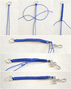 Step 1: Make paracord braiding