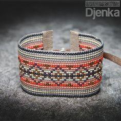 Bransoletka etniczna - beading - Kakata - Djenka