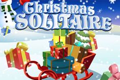 Christmas Solitaire Game - ArcadeHole.com