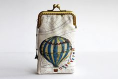 Hot Air Balloon iPhone Case Stoff Gadget RS iPhone von lazydoll, $29.90