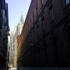 Catedral de León asomando... #catedraldeleon #leonesp