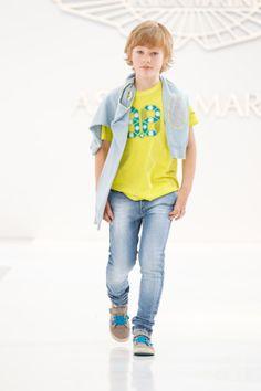 Aston Martin Spring Summer 2014 Trendy line yellow polot t-shirt  - @SILVIAN HEACH kids. #yellow #astonmartin #SS14 #spring #summer #springsummer2014 #childrens #kids #childrenswear #kidswear #kidsfashion #boys