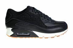 Nike Air Max 90 Premium (Black) 700155 001 Men's Sneakers
