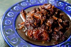 Glazed Oxtails - Oxtails, browned, slow cooked until falling off the bone tender, red wine and stock reduced until coating oxtails with syrupy glaze. Beef Recipes, Cooking Recipes, Savoury Recipes, Oxtail Recipes Crockpot, Beef Meals, Passover Recipes, Recipies, Oxtail Stew, Simply Recipes