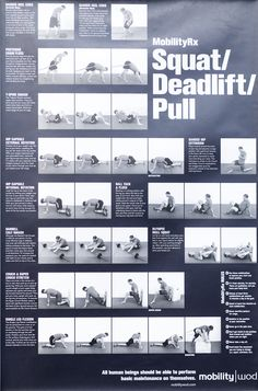 Squat, deadlift, pull