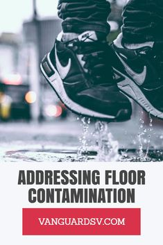 Studies have shown that of contaminants entering a facility arrive on the bottom of shoes or on the wheels of bikes or carts. Janitorial Services, Lancaster, Air Jordans, Sneakers Nike, Flooring, Nike Tennis, Janitorial Cleaning Services, Air Jordan, Wood Flooring