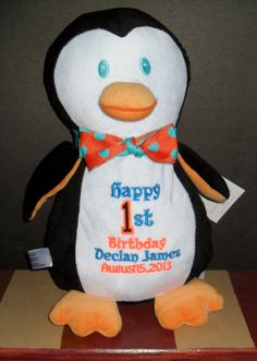 Great Birthday Gift!  Personalize with child's name & age!  $35.00